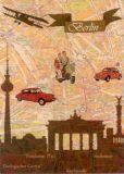 WENDEKREIS Berlin Plan B Postkarte