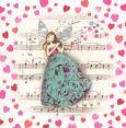 TAURUS-KUNSTKARTEN Musical Heart - C. Demuynck Postkarte