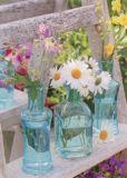 GOLLONG Blüten in Vasen - Martina Carmosino Postkarte