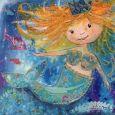 GOLLONG Meerjungfrau - Anna Ritka Grobe Postkarte
