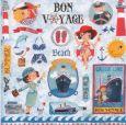 GOLLONG Bon Voyage / Maritimes - Cartita Design Postkarte