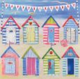 GOLLONG Happy Birthday / Strandhäuser - Carola Pabst Postkarte