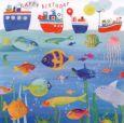 GOLLONG Happy Birthday / Fische + Schiffe - Carola Pabst Postkarte