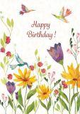 GRÄTZ Blütenpoesie - Aurélie Blanz Postkarte