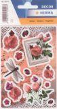Herma Nostalgische Rosen Sticker