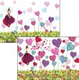 CARTES DART Heart Fairy Wackel Postkarte