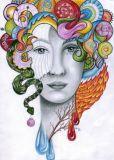 DANACARDS Fantasia - Lilli Kuhn Postkarte