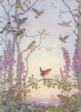 TAURUS-KUNSTKARTEN Dawn Chorus - Molly Brett Postkarte