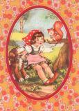 FROY & DIND Rotkäppchen Postkarte