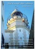 KATJA DIECKMANN Die Kunst des Lebens / Leuchtturm - Zauberwerke Postkarte