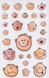 Z-Design Gesichter mit Stimmungen Sticker