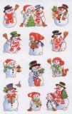 Z-Design Schneemänner Sticker