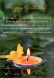 GWBI Happy Birthday - Leuchtender Tag - Classic Line Postkarte