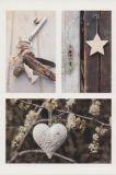 AQUAPURELLA Schlüssel, Stern + Herz  - Deco Postkarte