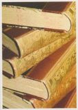 RANNENBERG Antiker Bücherstapel Postkarte
