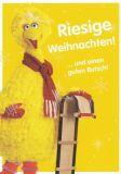 MT Riesige Weihnachten / Bibo - Sesamstraße Postkarte