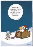 MT Ideen beim Saufen - Ralph Ruthe Postkarte