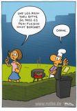 MT Tofu - Ralph Ruthe Postkarte