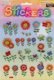Blumen, Bienen & Schmetterlinge -  Stickerbogen
