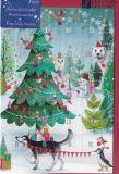 GOLLONG Winterliche Tiere - Mila Marquis Adventskalender Karte
