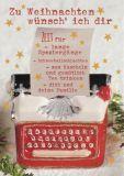 GOLLONG Zu Weihnachten / Schreibmaschine - Martina Carmosino Postkarte