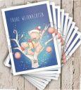 EMUFARM Bärige Weihnachten Postkarte