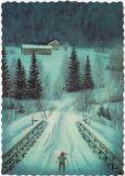KJELL E. MIDTHUN Zwerg auf Heimweg Postkarte