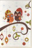 RANNENBERG Weihnachtseulen- Adventskalender Karte