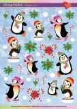 KARIN JITTENMEIER Pinguine 1 Ultra Gloss Sticker