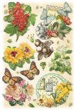 KARIN JITTENMEIER Vintage Blumen II 3D Sticker