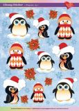 KARIN JITTENMEIER Pinguine 3 Ultra Gloss Sticker