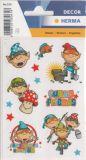 Herma Funny Friends Sticker