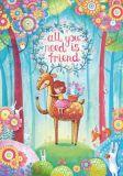LOVELYCARDS All you need is a friend - Irina Smirnova Postkarte