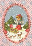 FROY & DIND Weihnachtsdeko Postkarte
