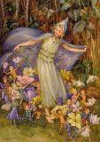 TAURUS-KUNSTKARTEN Springs Flowery Cloak - M. W. Tarrant Postkarte