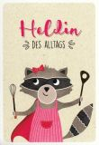 GOLDBEK Heldin des Tages Hello Friends Postkarte