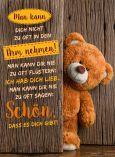 GOLDBEK Schön, dass es Dich gibt! / Teddy Lichtblicke Postkarte