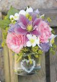 HARTUNG EDITION Blumen im Glas MEDLEY Postkarte