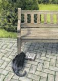 INKOGNITO Reading Cat - Katsuhisa Toda Postkarte