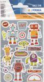 Herma Roboter Sticker
