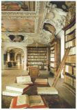RANNENBERG Kremsmünster, Bibliothek Postkarte