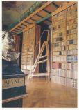 RANNENBERG Bibliothek des Prämonsrtatenser Klosters Jasov Postkarte