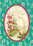 FROY & DIND Vögel auf Zweig Postkarte