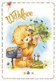 LOVELYCARDS With Love / Bär - Evgenia Chistotina Postkarte