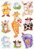 Herma Lustige Tiere Sticker