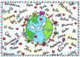 DANACARDS Weltpostkarte - Beate Reinartz Postkarte