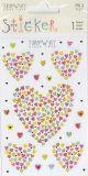 BSB Herzen aus Herzen mit Goldprägung Turnowsky Creativ Sticker