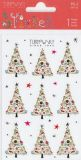 BSB Weihnachtsbäume mit Goldprägung Xmas Turnowsky Sticker