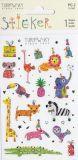 BSB Wilde Tiere mit Goldprägung Turnowsky Creativ Sticker