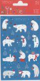 BSB Eisbären mit Silberprägung Xmas Turnowsky Sticker